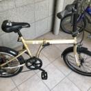 HUMMER ハマーの折りたたみ自転車