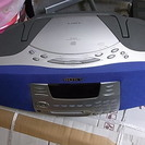 SONY CD MD ラジオコンポ ZS M37