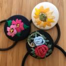 刺繍のワークショップ