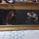 鯉 骨董品 瑪瑙 額 ⭐️大幅値下げしました⭐️