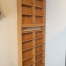 高さ調整可能な本棚(転倒防止機能付き)