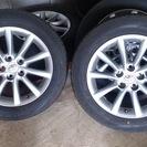 エスティマ中期 純正ホイール 2015製 タイヤ付