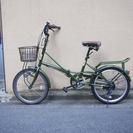 【6000円】折りたたみ自転車【中古】