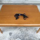 配達可能 1年半使用 家具調こたつ 座卓 テーブル ローテーブル