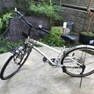 自転車 あさひ レガフィーノ26サイズ ホワイト