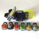 仮面ライダー鎧武 DX戦国ドライバー ロックシード セット2