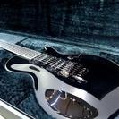 ESP ロック式 カスタムオーダーエレキギター 美品 ブラック レ...