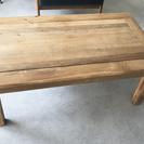 無垢のテーブル 50×90×38(高さ)