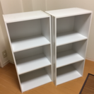 白の三段BOXの画像