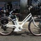 ヤマハ電動自転車 パス ミナ シルキーホワイト(ツヤケシ) PA26M