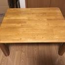 座卓 ローテーブル 古いテーブル 頑丈なのでまだまだ使えます ベー...