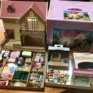 ☆シルバニアファミリー  ぶどうの森のお家&人形&小物セット☆