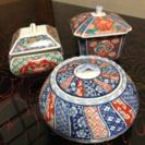 錦松梅 陶器製 容器