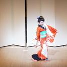 粋に美しく、日本舞踊体験500円 in 月島
