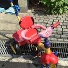 幼児三輪車 ママ楽ちん 後ろ押し  整理の為値下げ❣️