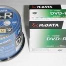 新品 RIDATA DVD-R 50枚パック & 10枚パックセット