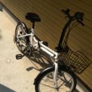 六段階切り替え折りたたみ自転車