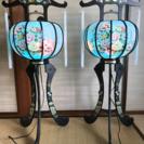 お盆の灯籠