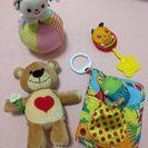 【美品】赤ちゃんのおもちゃ☆4点セット