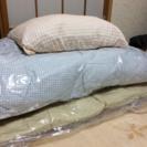 【未使用】羽毛敷き掛け布団・枕など8点セット