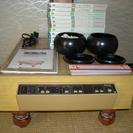 ナショナル電子碁盤TQ-1500(碁石、取説付き) 初中上級教材一...