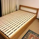 【女性が利用】2万 無印のセミダブルベッド