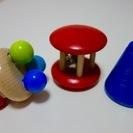 木のおもちゃ3種類  小物
