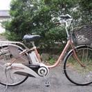 電動アシスト自転車(パナソニック、リチウムVIVI DX、26インチ)