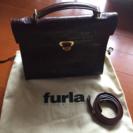 ほぼ未使用⭐︎イタリア製FURLA皮バック