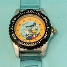 送料無料(G16)電池交換済 可愛い!ディズニードナルド腕時計USED