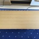 カフェの雰囲気 ニトリ 棚付き天然木センターテーブル(セーブル2 ...