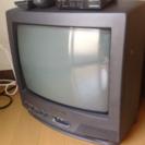 14型ブラウン管テレビ【地デジチューナーもお付けします!】