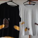 ディズニーつながるTシャツ(ベルメゾン)・男女ペア  中古・美品