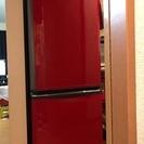 三菱冷蔵庫2013年製  赤
