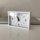 ★☆おしゃれな白色置き時計★☆