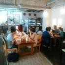 中之島のカフェでオフ会*:.。.(...