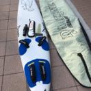 ウインドサーフィン フィン-ジョイント・ケース付き