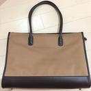【新品】ノートパソコンが入れる茶色バッグ