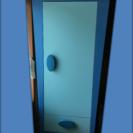 IKEA MAMMUTシリーズ青 子供タンス クローゼット