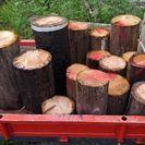 古電柱 木柱 切れ端