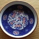 大きな丸皿(白縁)