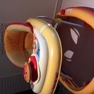 【超美品】ベビー歩行器 ※消音キャスター、セーフティボタン付き