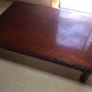 木製テーブル無料