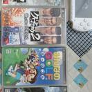 PSP本体とソフト4本