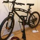 DoppelGanger D2 クロスバイク26インチ(ブラック×...