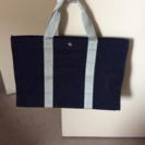 濃いめの紺色 トートバッグ