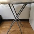 丸テーブル ハイタイプ カフェ ヴィンテージ 木製