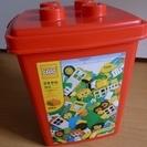 レゴブロック 赤いバケツ基本セット&グリーン板