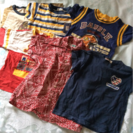 男児ブランドTシャツ (95〜110cm)6枚
