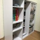 本棚 漫画・CDの収納に ホワイト 白 楽天